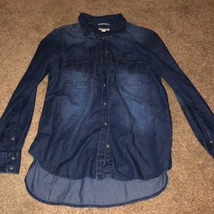 Denim Shirt - Size Large